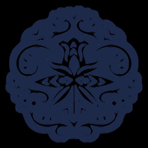 Ornament design pattern flower illustration Transparent PNG