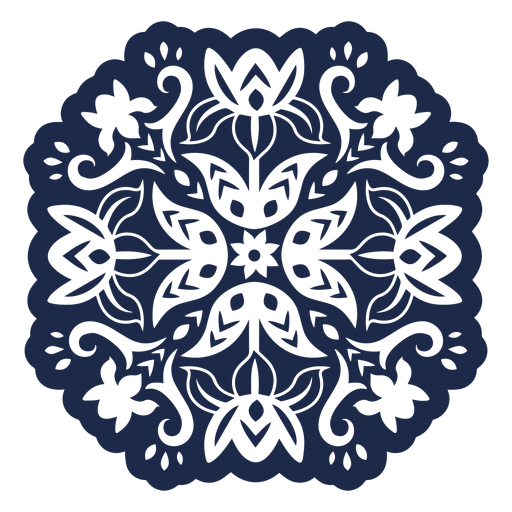 Ornament pattern design flower illustration Transparent PNG