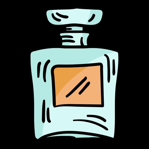Bosquejo de frasco de perfume Transparent PNG
