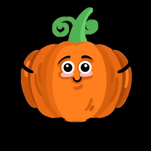 Pumpkin gourd cucurbit flat Transparent PNG
