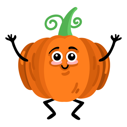 Pumpkin gourd cucurbit flat