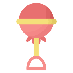 Rasselkugel flach
