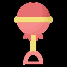 Sonajero esfera plana