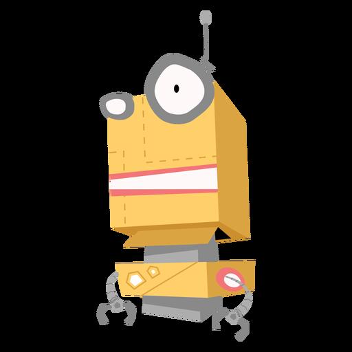 Esboço de antena de olho de caixa de robô Transparent PNG