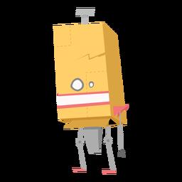 Esboço de olho de caixa de robô