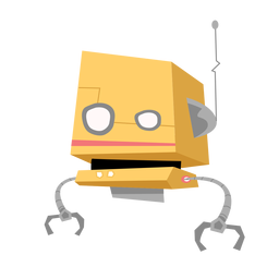 Bosquejo de antena de caja de ojo de robot