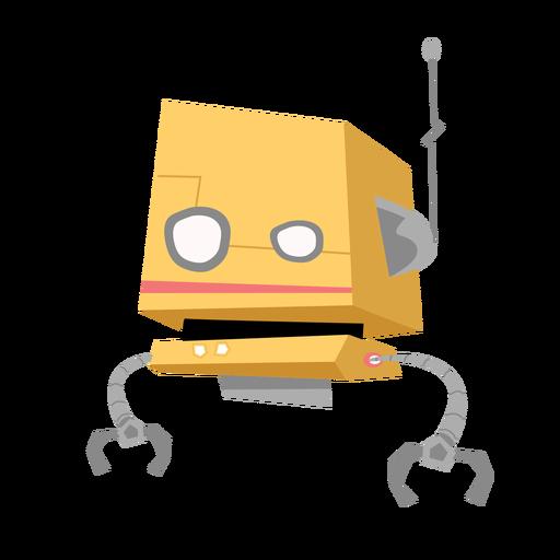 Boceto de antena de caja de ojo de robot Transparent PNG