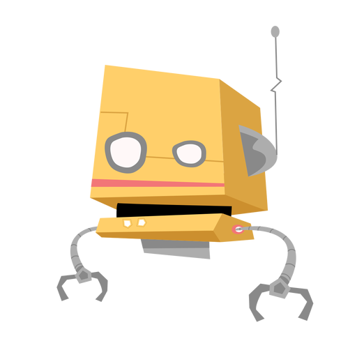 Bosquejo de antena de caja de ojo de robot Transparent PNG
