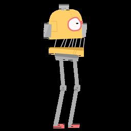 Desenho de caixa de olho de robô