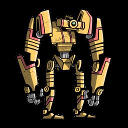 Robot transformador plano