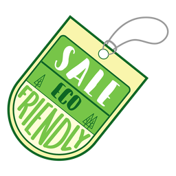 Sale eco friendly badge sticker