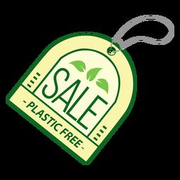 Etiqueta adhesiva de plástico libre de venta
