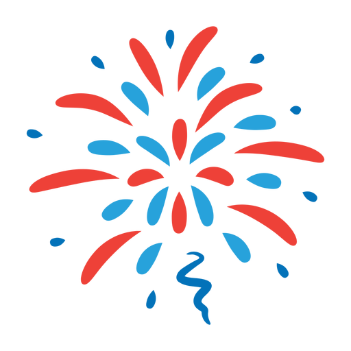 Salute beam firework ray star badge sticker Transparent PNG