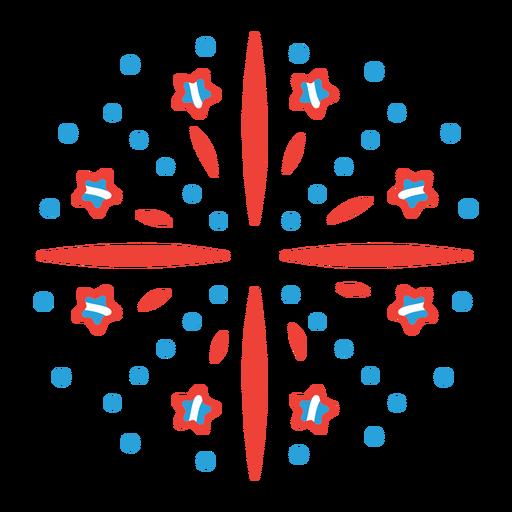 Etiqueta engomada de la insignia del rayo de la estrella de los fuegos artificiales del haz del saludo Transparent PNG
