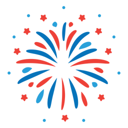 Etiqueta engomada de la insignia de la estrella del rayo de los fuegos artificiales del rayo del saludo