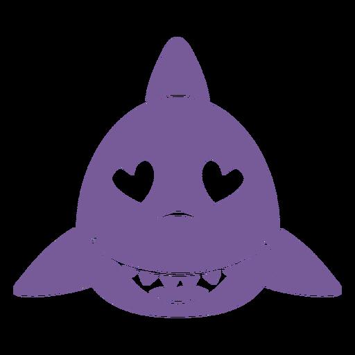 Cabeza de enamorado de tiburón bozal plano Transparent PNG