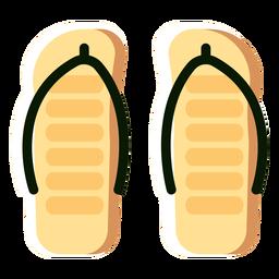 Deslize sapatos chinelos jandals plana