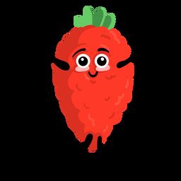 Strawberry wild strawberry flat