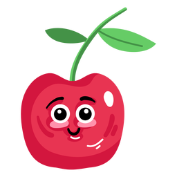 Sweet cherry cherry flat