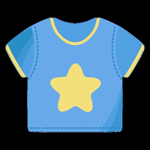 Camiseta camiseta estrela plana Transparent PNG