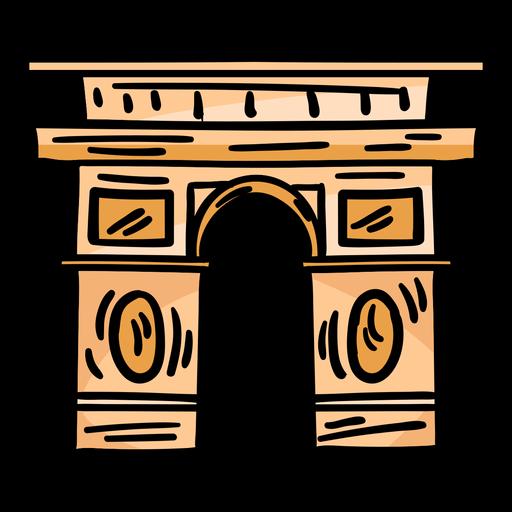 Bosquejo del arco del triunfo arco de triunfo Transparent PNG