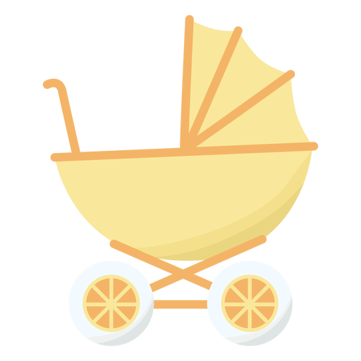 Wheel baby carriage flat Transparent PNG