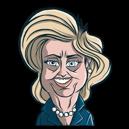 Desenho de corte de cabelo de mulher hillary clinton