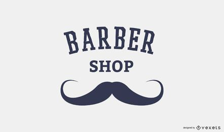 Barber shop logo template