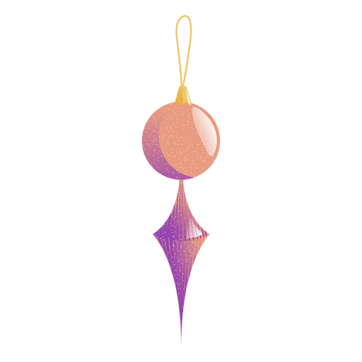 Ball icicle toy illustration Transparent PNG