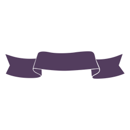 Band ribbon tissue silhouette