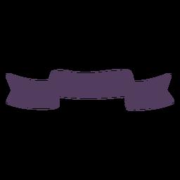 Silhueta de tecido banda fita