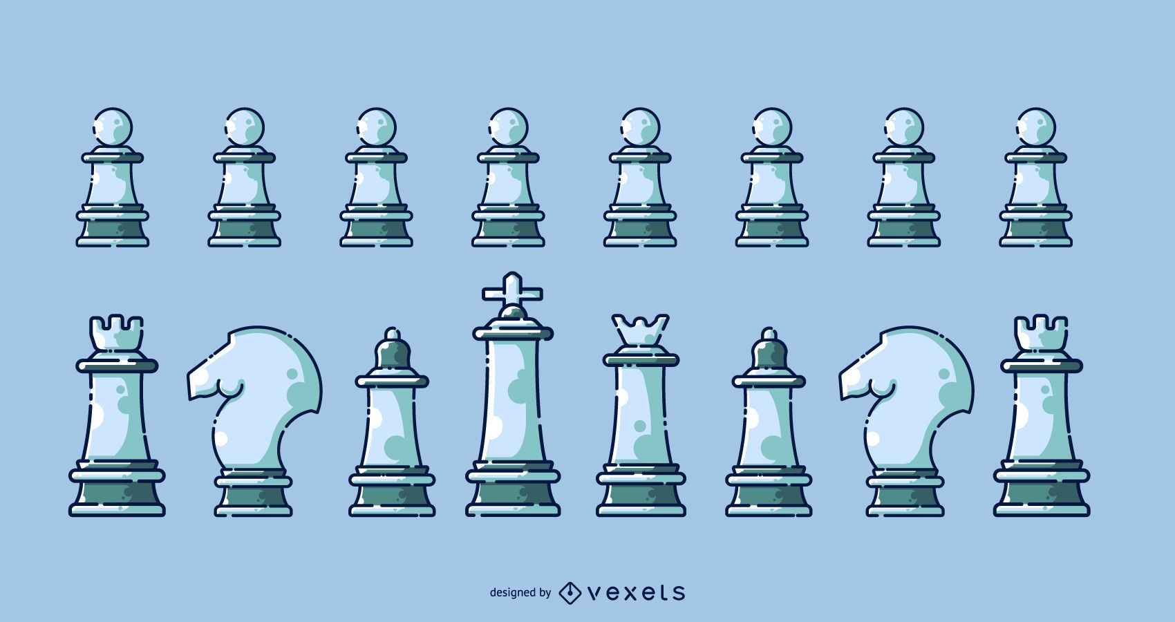 Chess icon collection