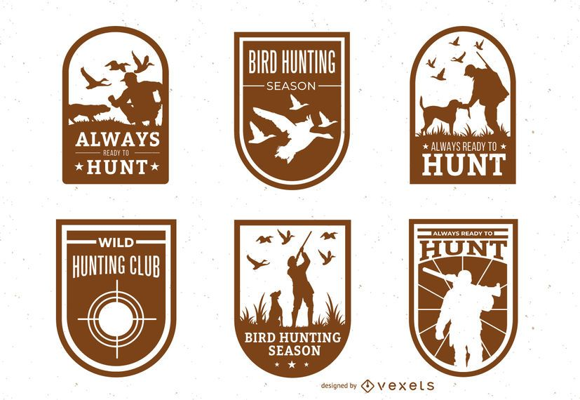 Hunting badge pack