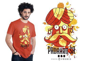 Diseño de camiseta Pandaaro Sa