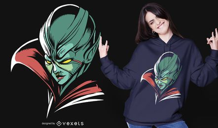 Diseño de camiseta de Alien Queen