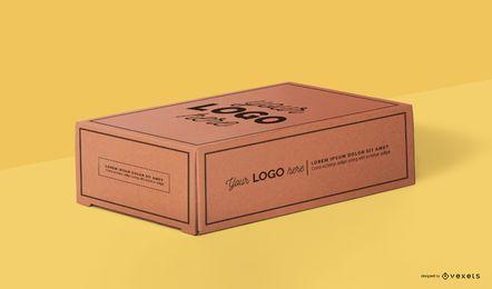 Diseño de maqueta de caja