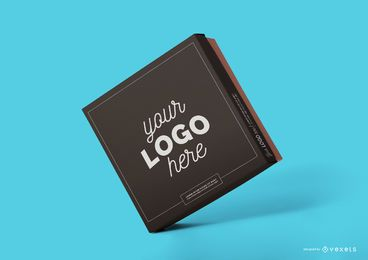 Box mockup design psd