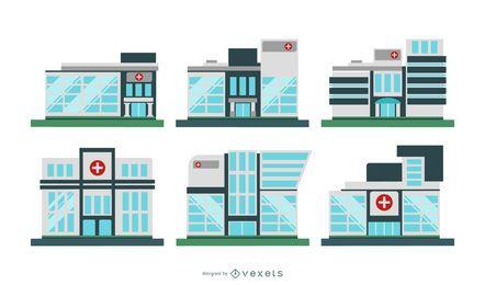 Conjunto de edificios hospitalarios