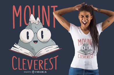Diseño de camiseta Mount Cleverest