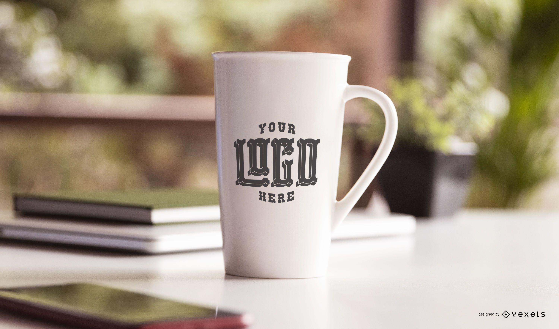Cerammic mug mockup