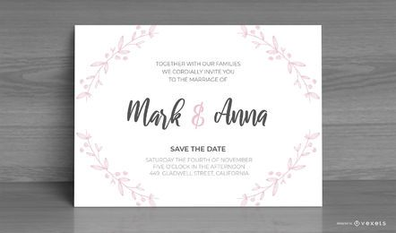 Wedding Invitation Custom Design