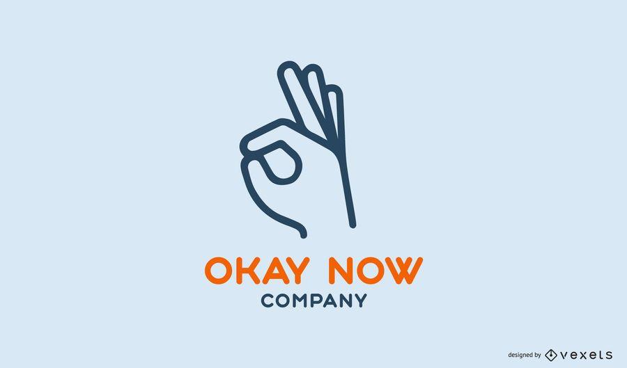 Ok, agora modelo de logotipo da empresa