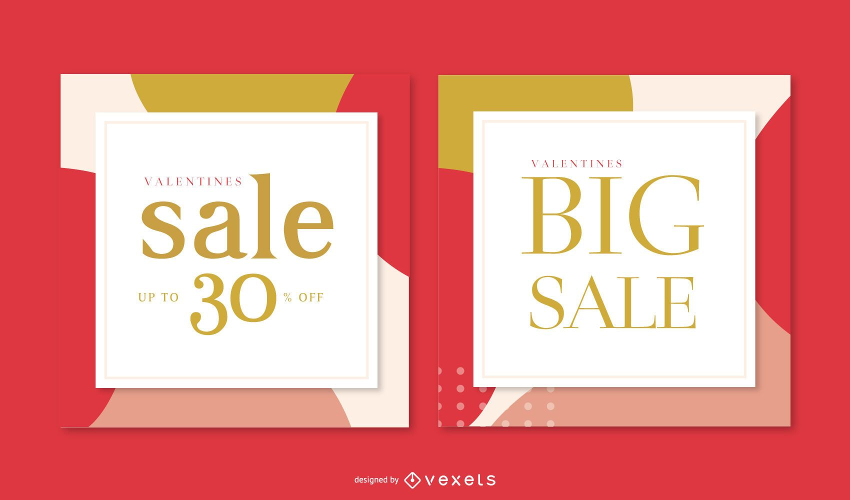 Valentine's Day Sale Banner Pack