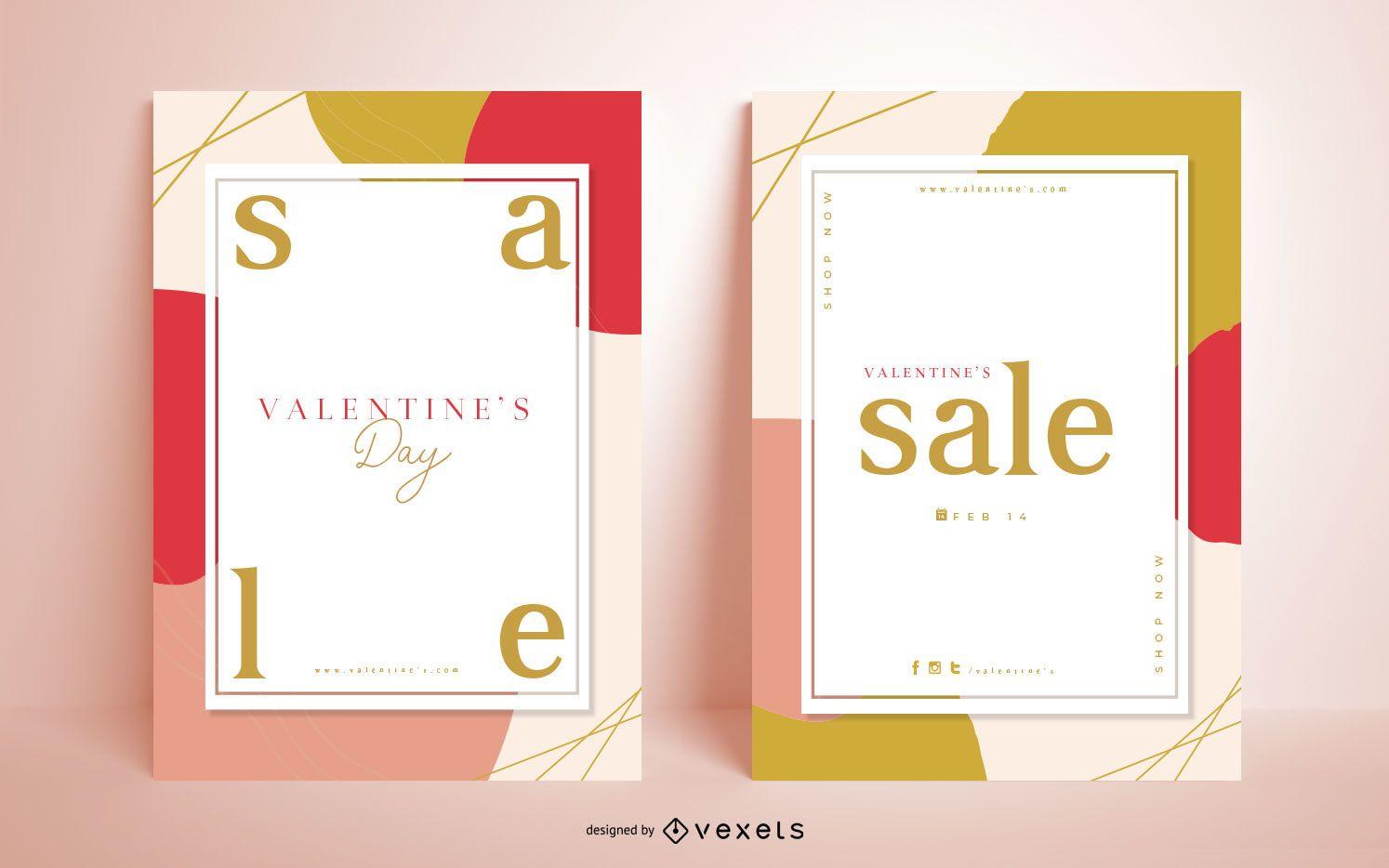 Valentine's Day Seasonal Poster Pack