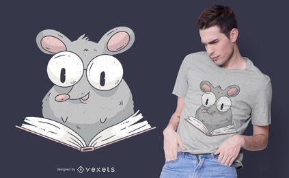 Ratten-T-Shirt-Design lesen