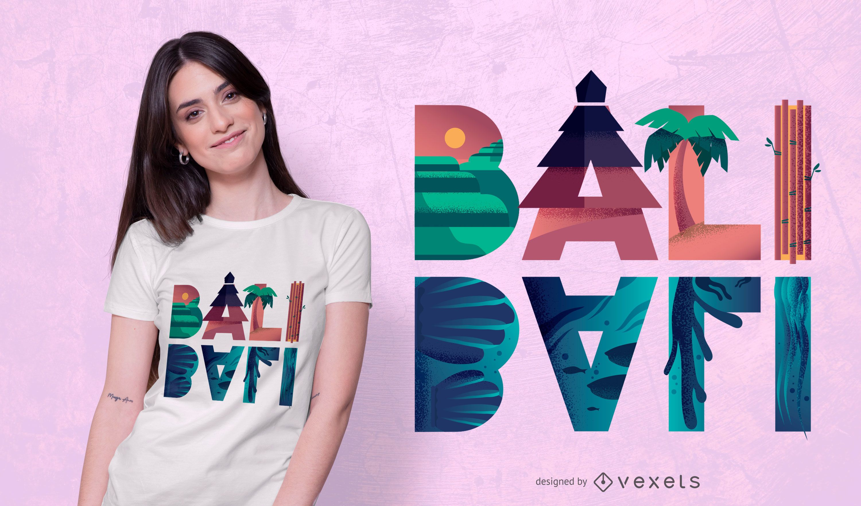 Bali t-shirt design