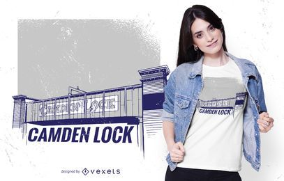 Camden lock t-shirt design