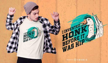 Diseño de camiseta Goose Funny Quote