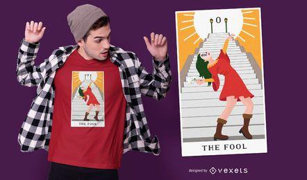 The fool t-shirt design