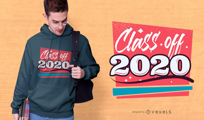 Class of 2020 T-shirt Design